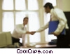 Stock photo  of a businessmen shaking hands