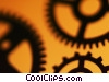 Stock photo  of a gears