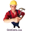Stock photo  of a construction worker