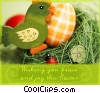 Easter Greetings Stock photo