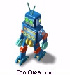 child's toy robot Stock photo