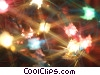 Stock photo  of a Christmas lights