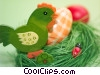 Easter chic and eggs Stock photo