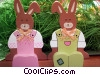 Stock photo  of a Easter bunnies