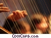 harpist Stock photo