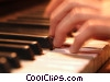 Stock photo  of a pianist