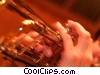 Stock photo  of a trumpeter