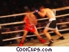 kick boxing Stock photo