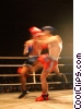 Stock photo  of a kick boxing