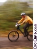 Stock photo  of a cyclist