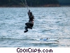 Stock photo  of a windsurfer