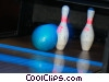 Stock photo  of a bowling
