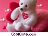 valentines day teddy bear Stock photo