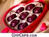 valentine day candy Stock photo