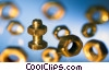 Stock photo  of a nuts and bolts