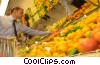 Stock photo  of a selecting fruit at the