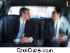 Stock photo  of a businessmen traveling in a