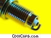 Stock photo  of a spark plug