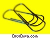 Stock photo  of a paperclips