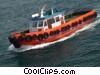 Stock photo  of a tug boat