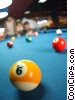 people playing pool Stock photo