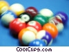 Stock photo  of a pool balls