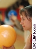 Stock photo  of a female bowler