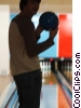 male bowler Stock photo