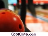 Stock photo  of a bowling balls