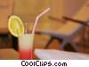 Stock photo  of a mixed drink