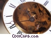 Stock photo  of an antique mantle clock