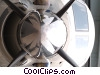 propeller plane Stock photo
