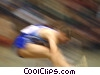long jumper Stock photo