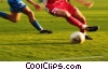 Stock photo  of a soccer players