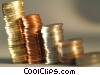 financial concept stacks of coins Stock photo