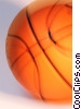 Stock photo  of a basketball