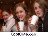 Stock photo  of a girls having cold drinks