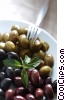 Stock photo  of an assorted olives
