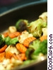 Stock photo  of a Vegetable stir fry with