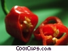 Stock photo  of a Red pepper slices