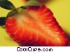 Strawberry slice Stock photo