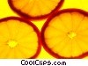 Stock photo  of a Orange slices