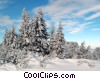 Stock photo  of a Russian nature scene in winter