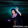 Stock photo  of a Female Vampire with Bats