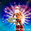 Stock photo  of a Holiday Hunk with Felice Anno Nuovo