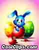 Blue Easter Bunny Surprise
