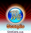 Fine Art picture  of a Scorpio Zodiac
