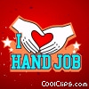 Fine Art picture  of a I Love Hand Jobs