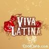 Fine Art graphic  of a Viva Latina