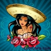 Stock Art graphic  of a Latin Dreams